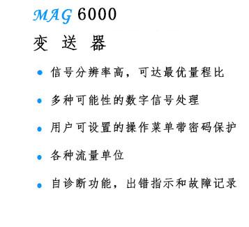 MAG6000变送器-大连莱立佰信息技术有限公司